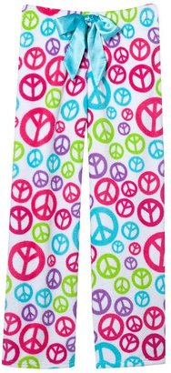 So peace fleece lounge pants - girls 7-16