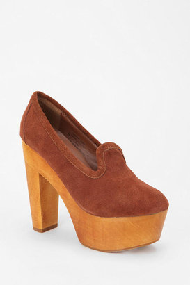 Urban Outfitters Ecote Suede Platform Loafer