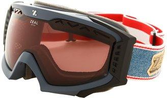 Zeal Optics Outpost (Rucksack Denim w / Optimum Lens + Polarized Gunmetal) - Eyewear