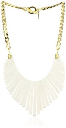 Jenny Bird Ivory Woodland Collar Necklace