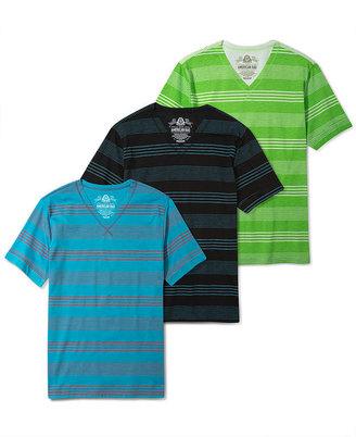 American Rag Shirt, Raw Edge Stripe Every Day Value T Shirt
