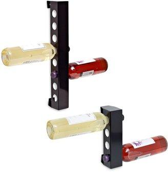Bed Bath & Beyond The Vynebar® Polished Black Vertical Wine Rack