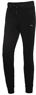 Puma Black Cat Logo Sweatpants