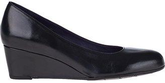 VANELi FOR JILDOR Leodora Wedge Pump Black Leather