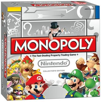Nintendo Monopoly collector's edition board game by usaopoly