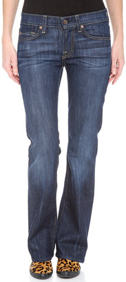 7 For All Mankind Boot Cut Stretch Jeans