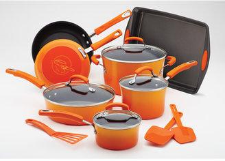 Rachael Ray Porcelain II Nonstick 14-Piece Cookware Set