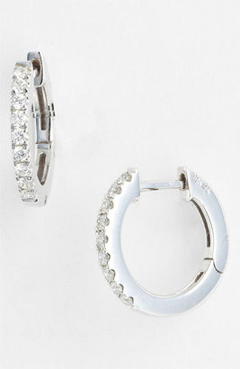 Women's Bony Levy Diamond Hoop Earrings (Nordstrom Exclusive) $1,195 thestylecure.com