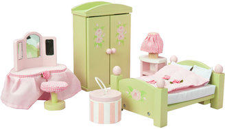 "Le Toy Van Daisylane"" Master Bedroom Dollhouse Furniture"