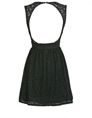 Delia's Crewneck Lace Dress