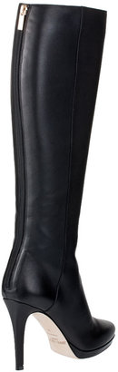 Jimmy Choo Glynn grainy leather knee boot