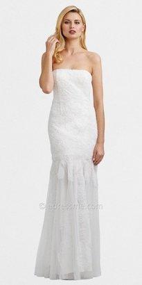 Adrianna Papell Strapless Elegant Mermaid Evening Dresses