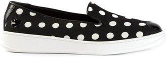 Hogan Katie Grand slip-on polka dot sneakers
