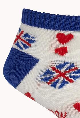 Forever 21 I Love London Ankle Socks