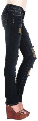 Butter Shoes Dark Ripped Skinny