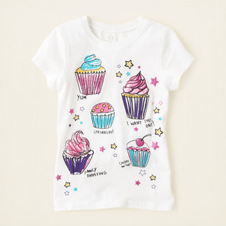 Children's Place Cupcake graphic tee