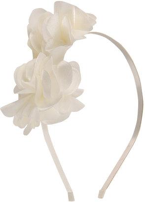 Forever 21 Satin Florals Headband