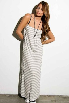 Blue Life Hipster Dress in Natural/Grey Stripe