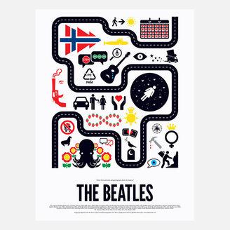 Viktor Hertz The Beatles Print