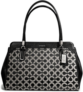 Kimberly Coach Madison Carryall In Op Art Sateen Fabric