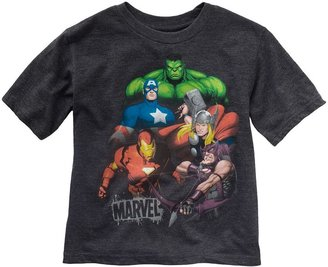 Iron Man Marvel the avengers tee - boys 4-7
