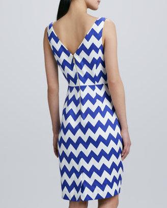 Kate Spade Brent Chevron Pattern Dress