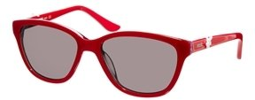 Moschino Red And Strass Sunglasses - R50 red-strass
