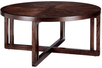 Martha Stewart Living Sable Brown Lombard Round Coffee Table