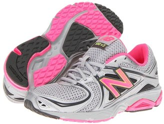 New Balance W580V3 (Silver/Pink) - Footwear