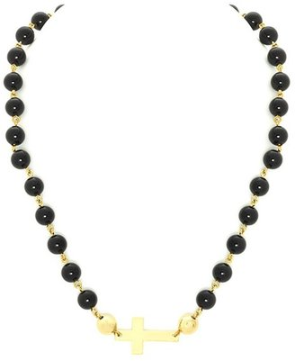 Belle Noel by Kim Kardashian Empyrean Beaded Cross Necklace