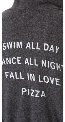 Wildfox Couture Pizza Party Hoodie