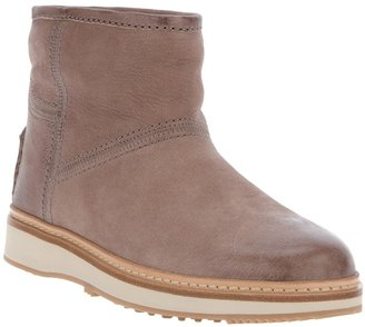 Car Shoe suede ankle boot