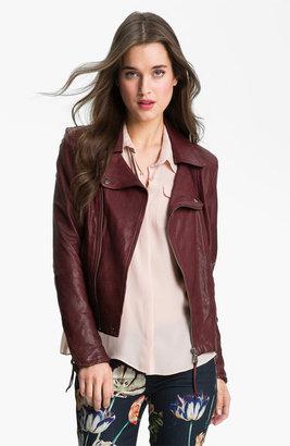 June Leather Biker Jacket
