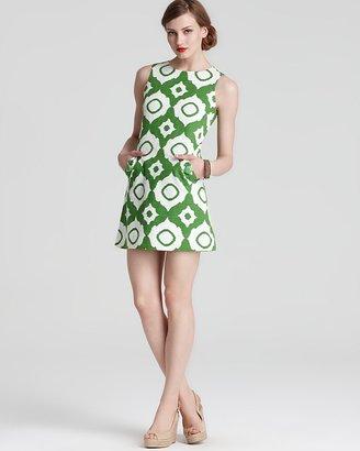 Shoshanna Ikat Pocket Shift Dress