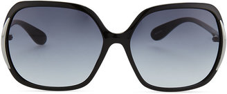 Marc by Marc Jacobs Thin Square Plastic Sunglasses