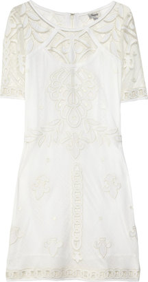 Temperley London Jacqui appliquéd lace dress