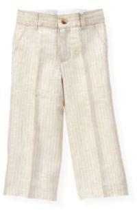 Janie and Jack Stripe Linen Trouser