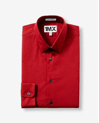 Express extra slim Dress stretch cotton shirt $59.90 thestylecure.com