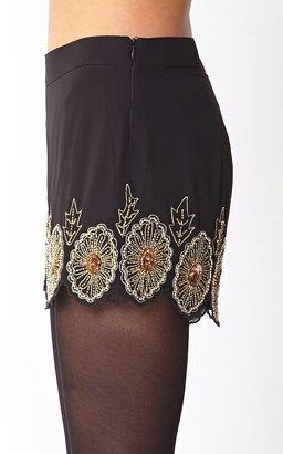 LOVE21 LOVE 21 Striking Embellished Shorts