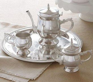 Pottery Barn Kids Silver Tea Set