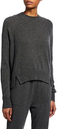 Frame Cashmere Crewneck Lounge Sweater