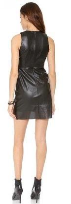 Style Stalker STYLESTALKER Hoop Dreams Faux Leather Dress