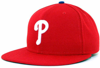 best sneakers e4162 d09a4 New Era Philadelphia Phillies Mlb Authentic Collection 59FIFTY Fitted Cap