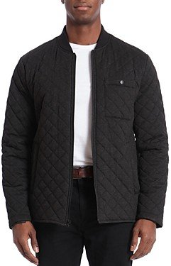 Bagatelle Quilted Water-Resistant Regular Fit Bomber Jacket