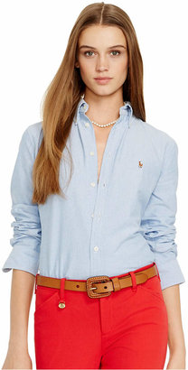 Polo Ralph Lauren Slim Fit Long-Sleeve Oxford Shirt $89.50 thestylecure.com