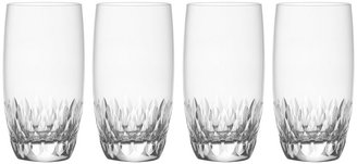 Mikasa Capella Crystal Highball Glasses, Set of 4