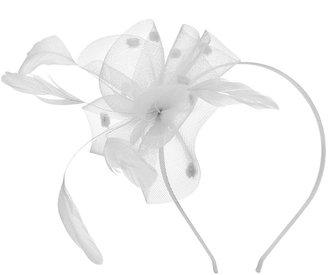 Jane Tran Crinoline Flower With Feather Headband 1 ea