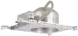 W.A.C. Lighting IC Shallow New Construction Housing for Six Inch Line Voltage Recessed Trims