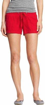 "Old Navy Women's Linen-Blend Drawstring Shorts (3-1/2"")"