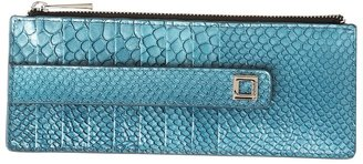 Lodis Crescent Heights Credit Card Case with Zipper Pocket (Midnight) - Bags and Luggage
